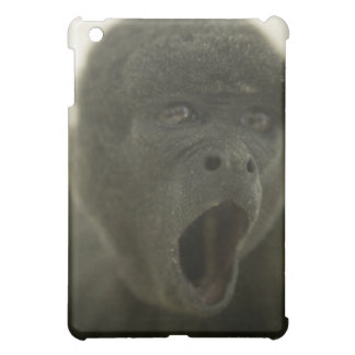 Small grey monkey, outdoors, portrait iPad mini covers