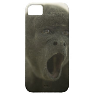 Small grey monkey, outdoors, portrait iPhone 5 covers