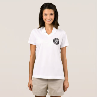 Small Gumba WINE Logo in Black on Front Left Polo Shirt