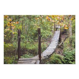 Small hanging bridge, National Coal Heritage Photo