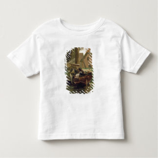 Small Harbour with a Boat Toddler T-Shirt