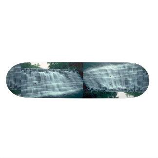 Small hydro-electric dam skateboard decks