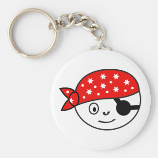 Small impudent pirate keychains