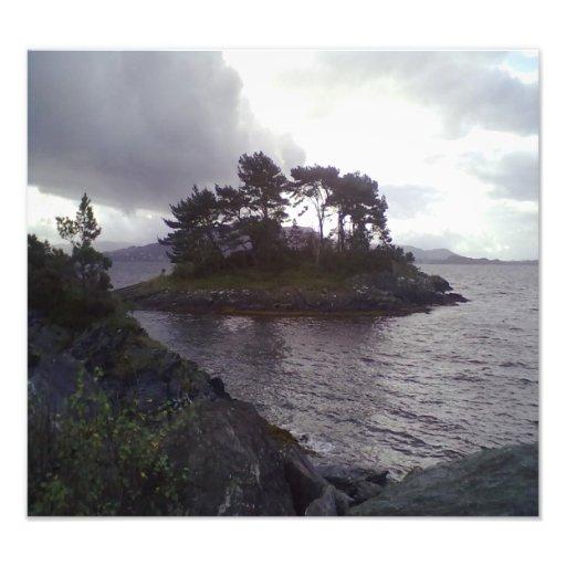 small island photo