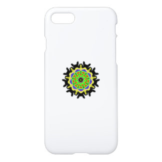 Small kaleidoscope abstract pattern iPhone 8/7 case