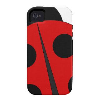 Small ladybird iPhone 4/4S case