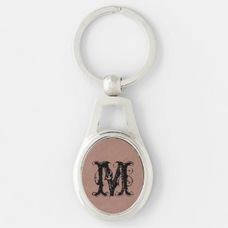 small light brown dots pattern keychains