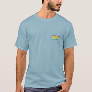 Small Logo OHOHUIHCAN Blue Men T-Shirt