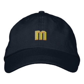 Small M Embroidered Hats