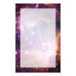Small Magellanic Cloud Galaxy Space Stationery Paper