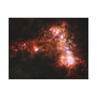 Small Magellanic Cloud Galaxy Star Formation Canvas Prints