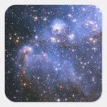 Small Magellanic Cloud Square Stickers