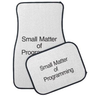 Small Matter of Programming.ai Floor Mat