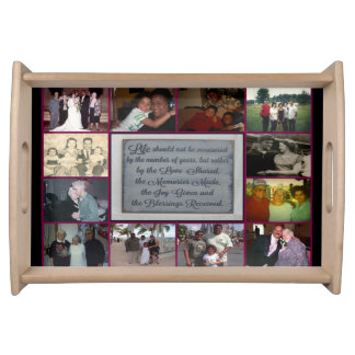 Small Memories Made Never Forgotten Serving Tray