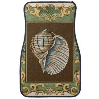 Small Mermaid's Shells Car Mat