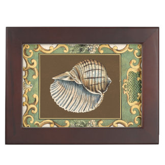 Small Mermaid's Shells Keepsake Box