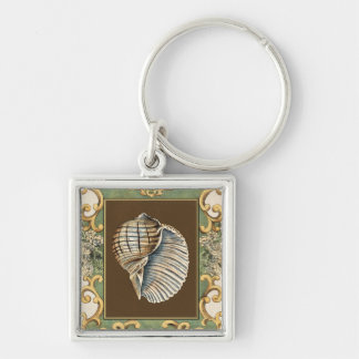 Small Mermaid's Shells Key Ring