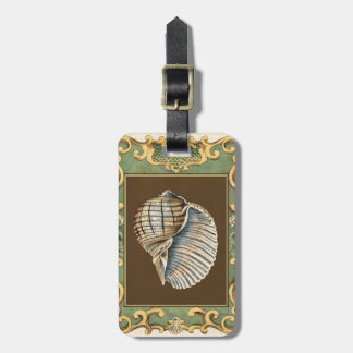 Small Mermaid's Shells Luggage Tag