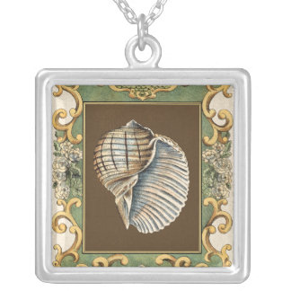 Small Mermaid's Shells Silver Plated Necklace