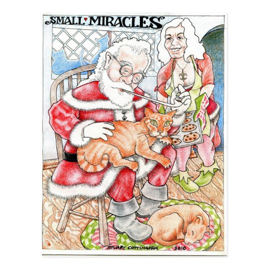 Small Miracles Postcard