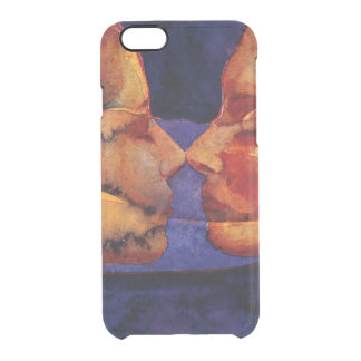 Small Mirror Twin with Figure Clear iPhone 6/6S Case