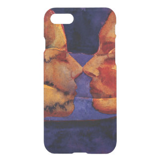 Small Mirror Twin with Figure iPhone 7 Case