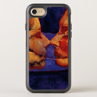Small Mirror Twin with Figure OtterBox Symmetry iPhone 8/7 Case