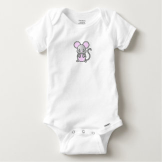 Small Mouse Baby Onesie