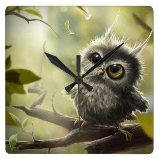 Small owl/Little Owl Wallclock