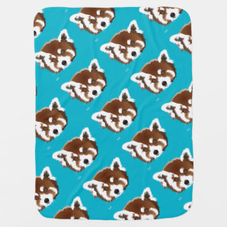Small panda baby cover baby blanket