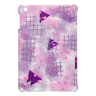 small particles,pink iPad mini cases