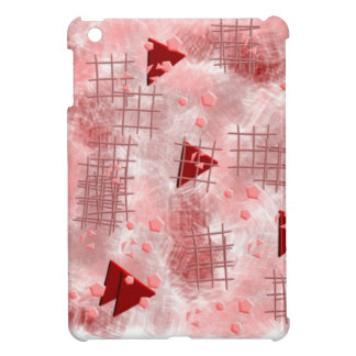 small particles,red case for the iPad mini