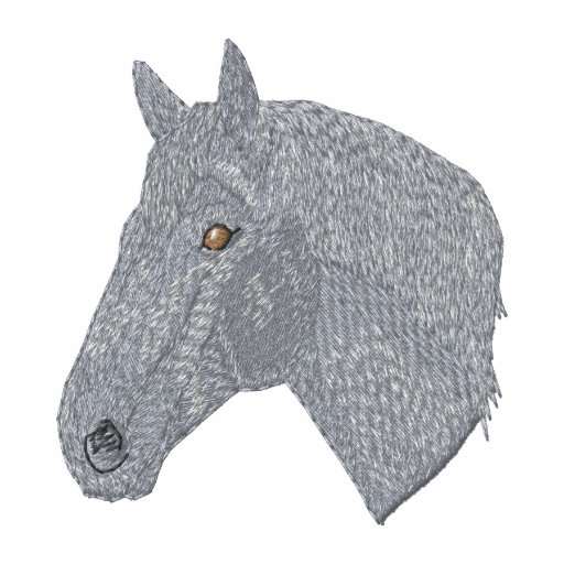 Small Percheron Embroidered Hoodie
