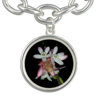 Small Pink Flowers By KABFA Designs