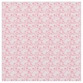 Small pink rose pattern fabric Part 1