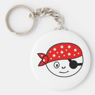 Small pirate keychain