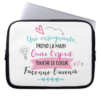 Small pocket for teaching portable laptop sleeve