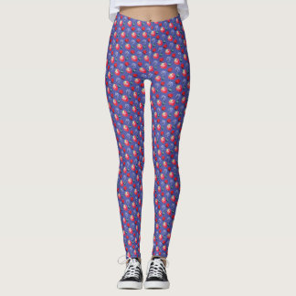 Small Print Fruit Salad Leggings