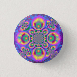 Small psychedelic button