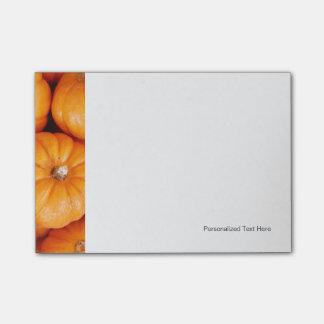Small Pumpkins Post-it Notes