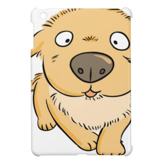 Small puppy wanting a snack iPad mini covers