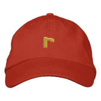 Small R Embroidered Baseball Cap