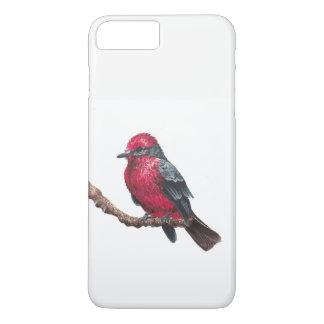 Small red bird iPhone 8 plus/7 plus case