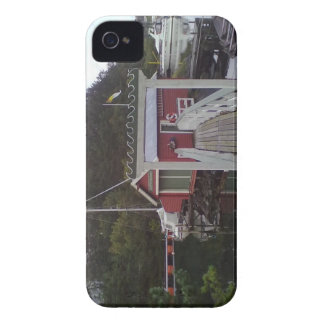 Small red house by the Sea Blackberry Bold Case