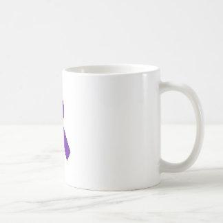 Small Ribbon Basic White Mug