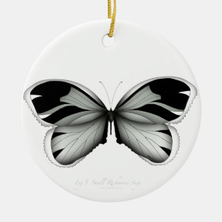 Small Richmond Sage Butterfly Christmas Ornament