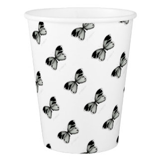 Small Richmond Sage Butterfly Paper Cup