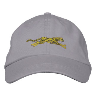 Small Running Cheetah Embroidered Baseball Cap