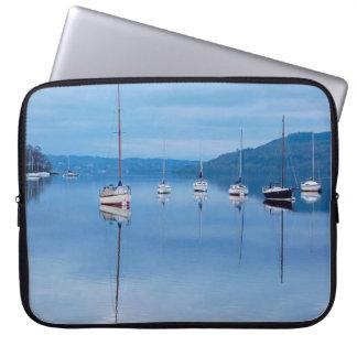 Small Sailboats Laptop Sleeve
