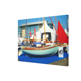 Small sailing boats Southampton boat show Gallery Wrap Canvas